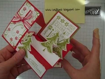Stampin' Up! Card base 1
