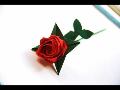 Stem & Assembly (Flowers & Roses): Daily Origami - 485 TCGames [HD]