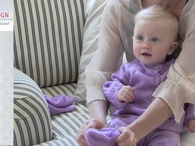 0004B HELENA Baby Knitting Pattern