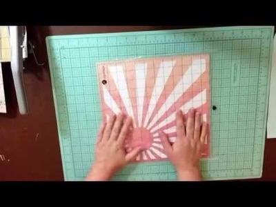 2 Minute Scrapbook Tip: Electronic Die Cutting - Using The Negative Spaces