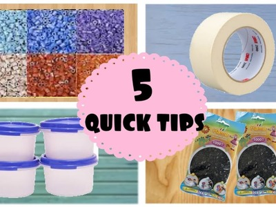 5 Quick tips for Perler Beads