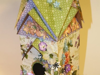 Bird Abode Series:  May Flowers Bird House and Album