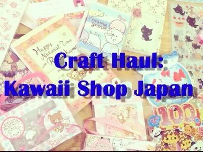 Craft Haul: Kawaii Shop Japan #1