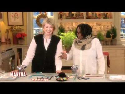 Crafting with Martha and Whoopi | Whoopi Goldberg | Martha Stewart