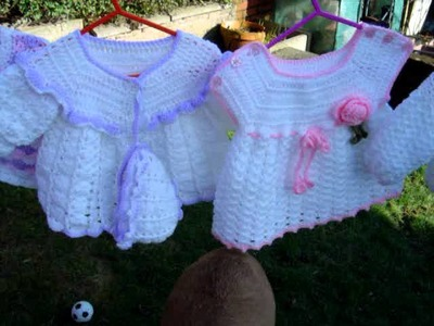 Crochet Baby garments made by Urbangypsycrochet part 3