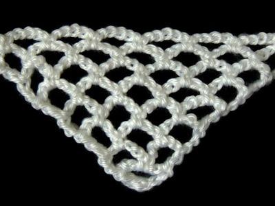 """Crochet : Punto Red en """"V"""""""