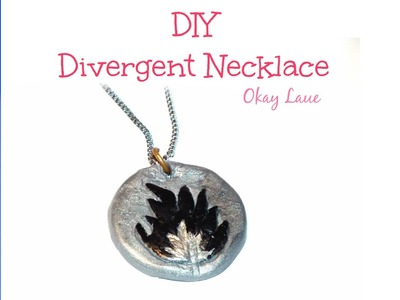 DIY Divergent Necklace (Dauntless)