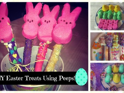 DIY Easter Treats Using Peeps: Three Ideas! | Victoria Rose