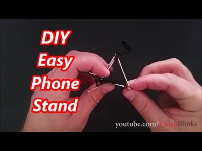 DIY Easy Phone Stand