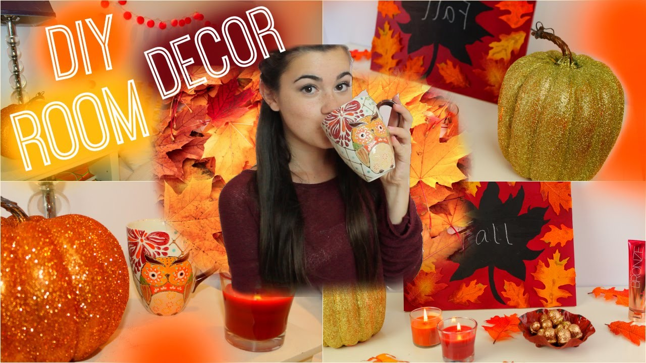 DIY Fall Room Decorations - Spice up your Room for Fall!