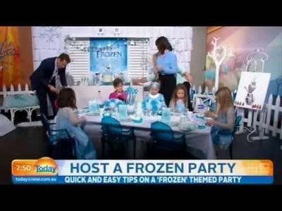 DIY Frozen Party