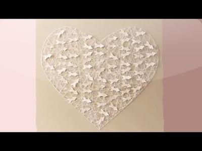 DIY Heart Escort Card Display - Martha Stewart Weddings