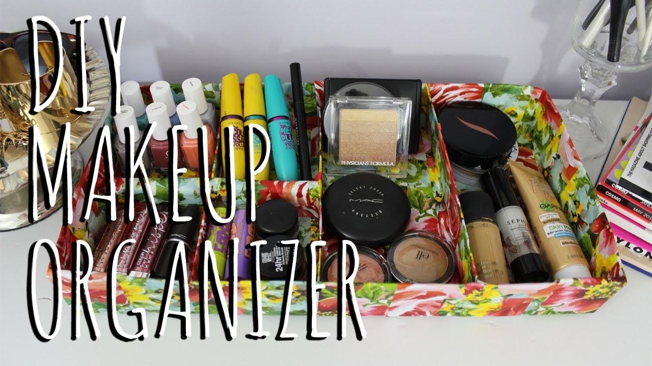 DIY: Makeup.Jewelry Organizer