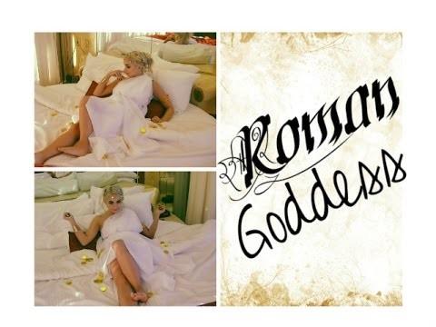 DIY Roman Goddess Halloween Tutorial