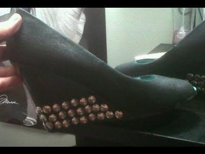 DIY: Studded Heels! ♡ Theeasydiy #FashionDIY