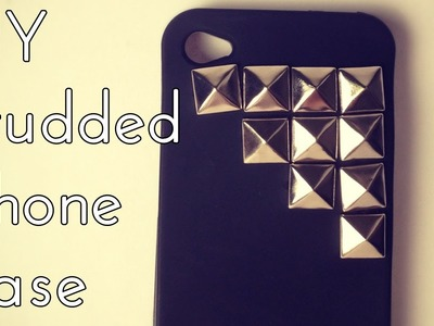 DIY: Studded iPhone Case Tutorial | OliviaMakeupChannel
