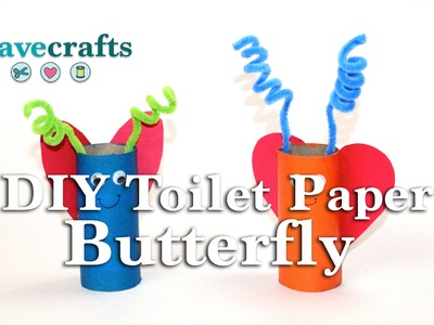 DIY Toilet Paper Roll Butterfly