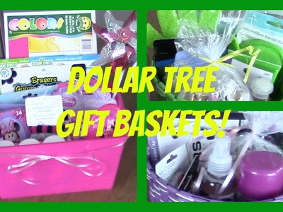 Dollar Tree Gift Baskets | DIY Affordable Gifts!