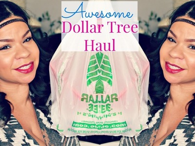 DOLLAR TREE HAUL | AWESOME MAKEUP FINDS, DIY CRAFTS, SPRING ITEMS | SENSATIONAL FINDS