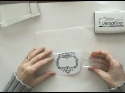 Get Started with Clear Stamps