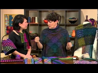 Graphic Color in Knitting with Laura Bryant, from Knitting Daily TV Episode 1109