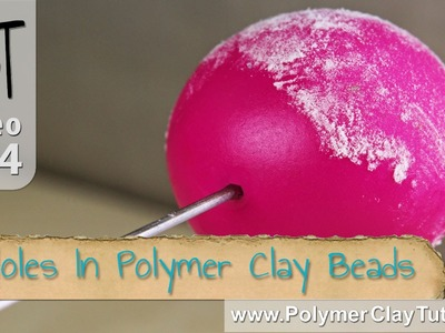 Holes In Polymer Clay Beads