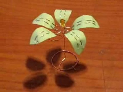 Homemade Flower Lemon Battery