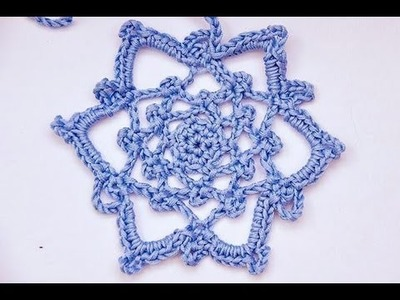 "How to Crochet * Crochet Star ""Daria"" * 1st Advent Sunday"