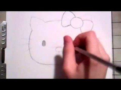 HOW TO DRAW HELLO KITTY =^.^=