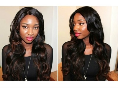 How to Install a U-Part Wig & Lace Closure ❤ DIY Tutorial