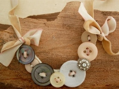 How to Make a Button Necklace | by Michele Baratta