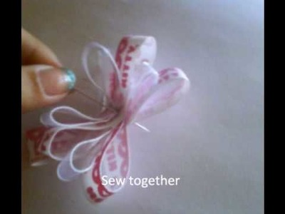 How to make a cute hello kitty bow