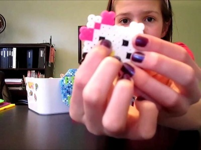 How To Make A Perler Bead Hello Kitty