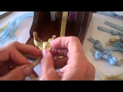 How to make a ribbon bow using a bow maker with crafty dawn