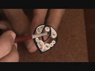 How-to make paper quilling jewellery earrigs for beginers and professionals.PART - 2 (varnishing)