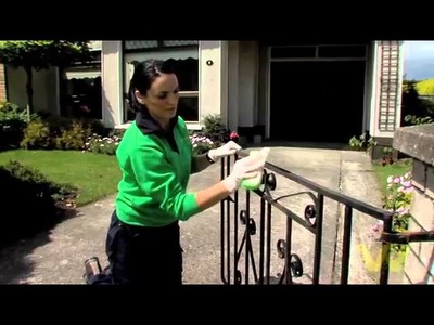 How to Paint a Metal Gate
