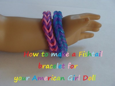 HTM Fishtail Bracelet for your AG Doll