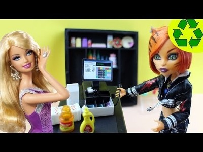 Make a Doll Cash Register - Doll Crafts