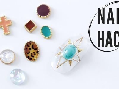 NAIL HACK | DIY 3D NAIL JEWELRY