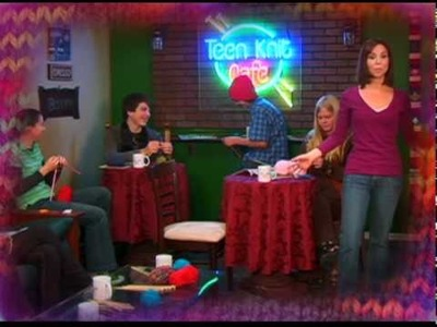 No-Rules Knitting at the Teen Knit Café DVD Promo