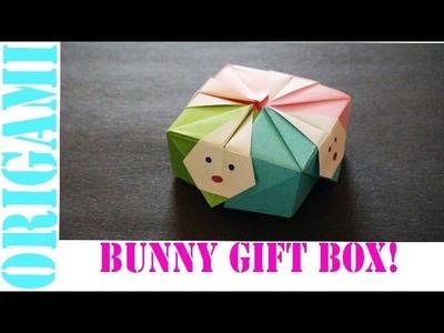 Origami Daily - 432: Bunny Rabbit Gift Box (Modular) - TCGames  [HD]