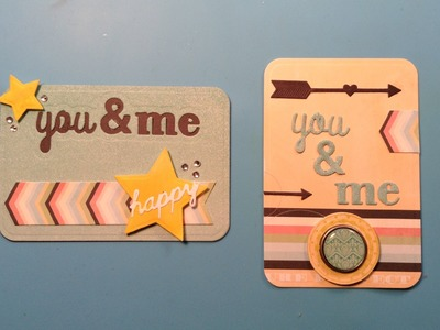 Pocket Page Cards for Scrapbooking!