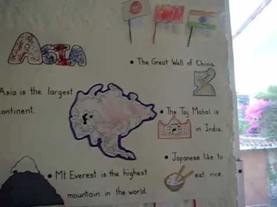 Preschool - Social Studies, Geography: Continents study, arts and crafts ideas and projects.