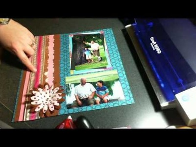 Scrap with me - Using pattern papers and lots of color