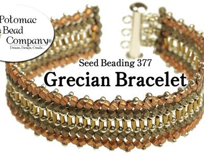 Seed Bead 377 - Grecian Bracelet