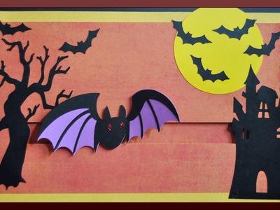 Spooky Halloween - Spinner Card Tutorial