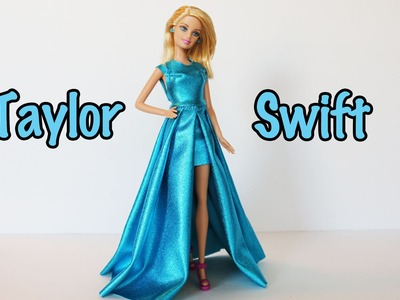 Taylor Swift Grammy's 2015 DIY Doll Style How To Tutorial