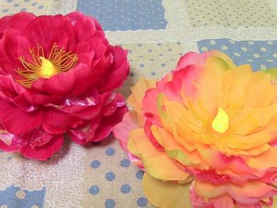 TUTORIAL: DIY Flower Light