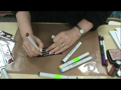 #63 Color Your ZVA Bling & Pearls With Copic Markers by Scrapbooking Made Simple