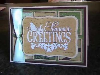 9 Vintage Christmas Cards  2010